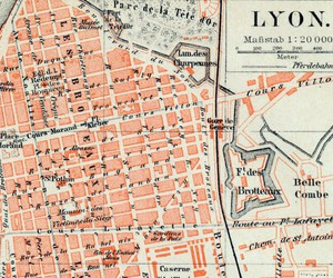 drawing, france, and lyon image