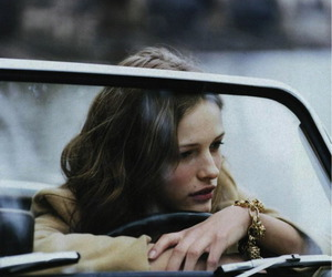 girl, car, and model image