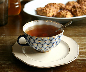 tea, vintage, and cup image