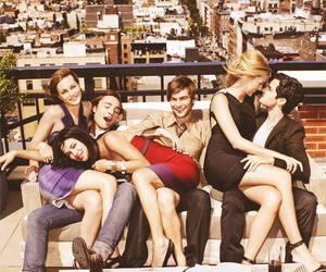cast and gossip girl image
