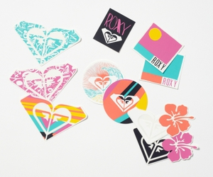 stickers and roxy image