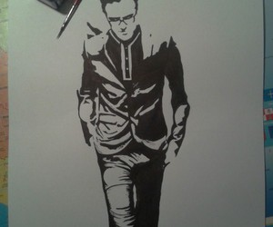black and white, McFly, and tom fletcher image