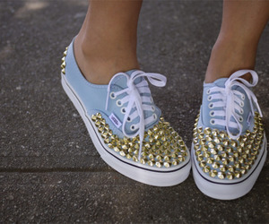 studded, vans, and cute image