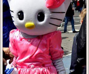doudou, cute, and hello kitty image
