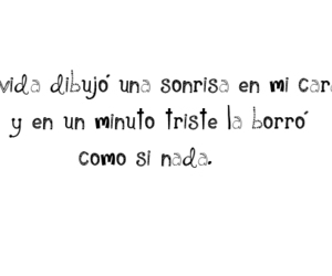frase, texto español, and quote image
