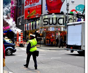 new york, swatch, and time square image