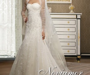 wedding time and cheap bride dress image