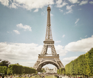 paris, eiffel tower, and cute image