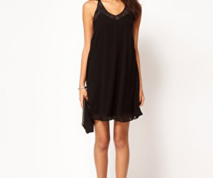 asos, black, and dress image