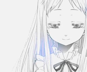 anime, girl, and menma image