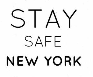 couple, new york, and stay safe image