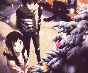 hyouka, anime, and christmas image