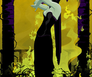 maleficent and art image
