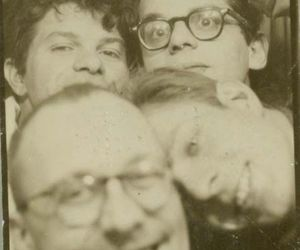 50s, Allen Ginsberg, and Beat Generation image