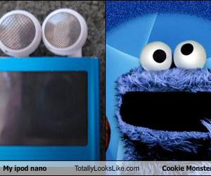cookie monster and funny image
