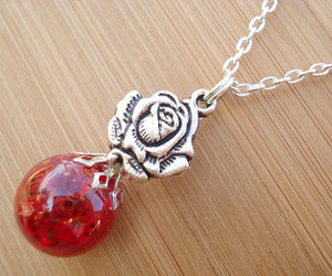 boho, chain necklace, and charm image