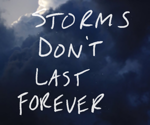 storm, quotes, and forever image