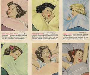 art, vintage, and sheets image