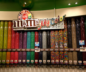 m&m's, m&m, and chocolate image