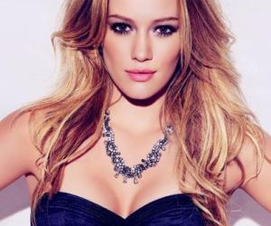 Hilary Duff and blonde image