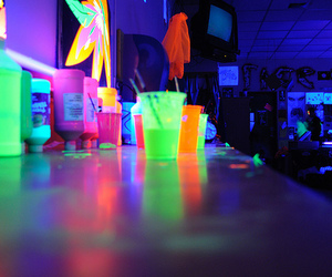 neon and drink image