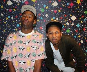 tyler the creator, pharrell, and hat image