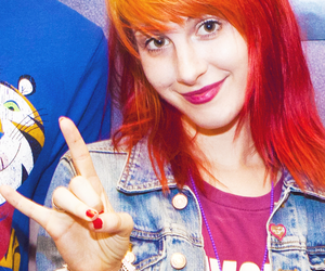 girl, hayley williams, and paramore image