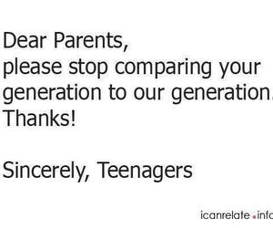 generation, parents, and teenagers image