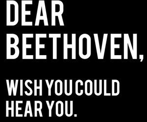 Beethoven and letters to dead people image