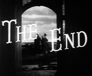 b&w, cinema, and and then there were none image
