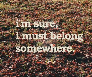 belong, text, and quote image