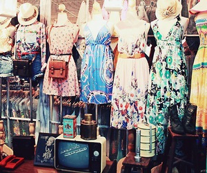 dresses, girlish, and indie image