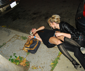 girl, drunk, and friends image