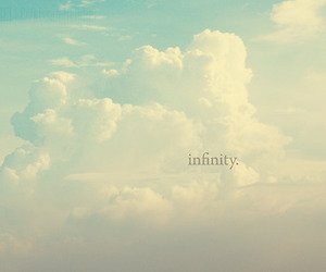 clouds, infinity, and sky image