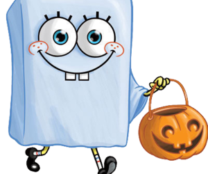 Halloween, spongebob, and pumpkin image