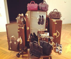 bag, Louis Vuitton, and shoes image
