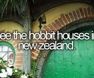 hobbit, new zealand, and house image