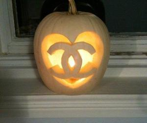 chanel, Halloween, and pumpkin image