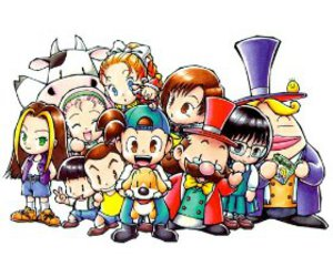 game, hm, and harvest moon image
