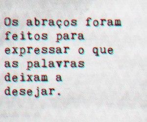 hug, abraços, and abraco image