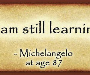 michelangelo and qoute image