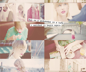 cafe, music video, and Taylor Swift image