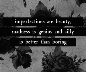 quotes, beauty, and imperfection image