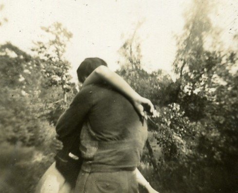 black and white, lovers, and couple image