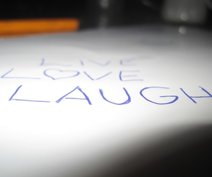 laugh, live, and text image