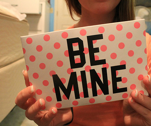 be mine, pink, and photography image