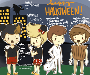 one direction, Halloween, and Harry Styles image