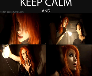 paramore, ignorance, and keep calm image