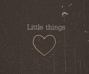 little things, one direction, and heart image