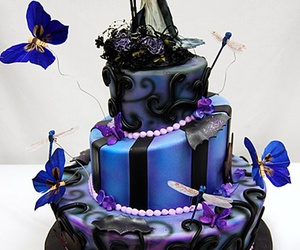 halloween cakes, halloween fest, and interesting cakes image